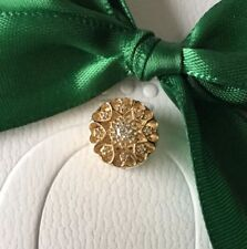 Authentic Genuine Pandora 14k Solid Gold Hearts Of Gold Openwork Charm #750841CZ