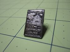 COLCHESTER'S 300th Anniversary 1998 Antiqued Metal Die Struck Hat Pin Lapel Pin