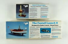 Midwest Fantail Launch II & Model VI Steam Engine Kits