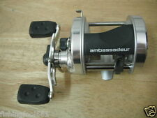 Abu Garcia Baitcasting Fishing Reel with CLICKER Right Hand Model 6500 Gift
