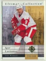 2011-12 Upper Deck Ultimate Collection 20 Igor Larionov /399 Detroit Red Wings