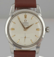 Vintage Omega Seamaster Automatic Gents Wristwatch Stainless Steel