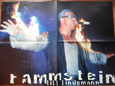 RAMMSTEIN + KIRK HAMMETT Metal Hammer Super-Poster 55 x 40 cm Clipping 231