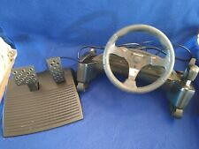 Thrustmaster Nascar Pro Racing Wheel & Pedals for PC Windows 95 Video  EXC COND