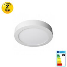 Downlight Plafón Superficie LED Redonda 20W 2000LM Luz Blanco Frío/Neutro/Cálido