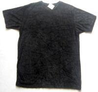 MILLS Damen T-Shirt Gr. 38 Schwarz gemustert