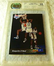 SHAQUILLE O'NEAL 1992 UPPER DECK ROOKIE #1 CSA 10 GEM MINT (10 10 10 10 10 9)