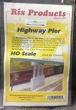 RIX 100 HO Highway Bridge Pier only kit - Adjustable Height    MODELRRSUPPLY-com
