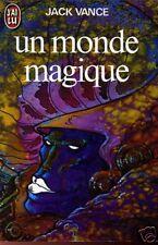 JACK VANCE: UN MONDE MAGIQUE. J'AI LU. 1984. DRUILLET.