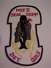 UDT SEAL TEAM MST-2 PATCH DET GOLF VIETNAM STYLE