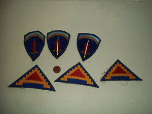 WWI WW2 US ARMY PATCH LOT
