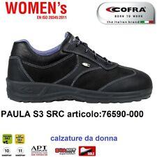SCARPE ANTINFORTUNISTICA COFRA PAULA S3 SRC nubuck idrorep. calzature da donna