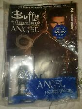 BUFFY THE VAMPIRE SLAYER ANGEL EAGLEMOSS 3.5 INCHES FIGURE & MAGAZINE 2009