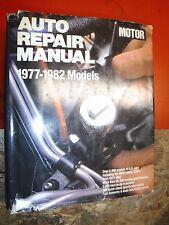 1977-1982 MOTOR'S AUTO REPAIR MANUAL CHEVY FORD DODGE AMC MAGNUM CAMARO MUSTANG