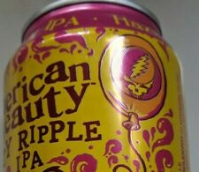 Grateful Dead American Beauty empty Aluminum Beer Can Dogfish Head Microbrewery