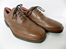 Rockport Engineered Dressports Men's Brown Leather Wing Tip Shoes Size 10.5 W US