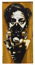 EDDIE COLLA: BLNT Hand-painted mixed media 1XRUN limited art sold out