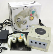 "Game Cube STAR LIGHT GOLD Console System Boxed Ref/DJH10018220 ""NTSC J Nintendo"