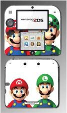 New Super Mario Bros 3D Land World Luigi Toad Video Game Skin Cover Nintendo 2DS