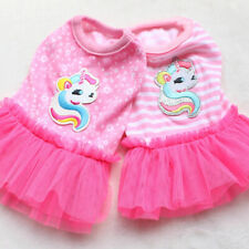 Small Milk XXS Dog Clothes Summer Dress Lovely Puppy Skirt Pets Apparel Costume