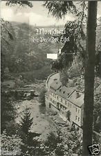 Monschau in der Eifel, Ansichtskarte m. Leporello, Rucksackkarte mit Bilderfahne