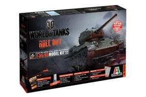 World Of Tanks T-34/85 Kit 1:35 Italeri IT36509