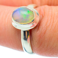 Ethiopian Opal 925 Sterling Silver Ring Size 7.5 Ana Co Jewelry R34594F