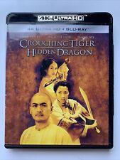 Crouching Tiger, Hidden Dragon 4K Ultra Hd/Uhd, Blu-ray