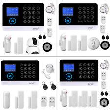 Wireless WiFi GSM SMS Smart Home Office Security Burglar Alarm System for Alexa