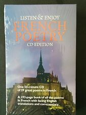 Dover Language Guides Listen and Learn: French Poetry by Dover Staff (2004,...
