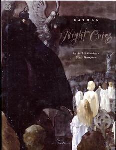 Batman: Night Cries     Archie Goodwin    Hardcover     1st Print   1992