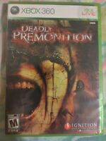 Deadly Premonition (Xbox 360 2010) FACTORY SEALED! - RARE!