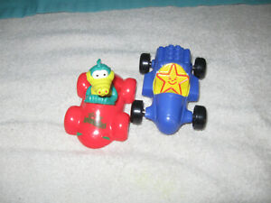 VINTAGE LOT OF 2 HARDEE'S TOYS 1996 and 2001 Cars