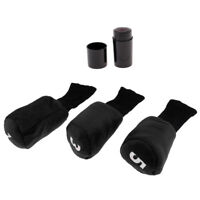 Golf Head Covers Driver 1 3 5 Fairway Woods Headcovers Protective Cover Set