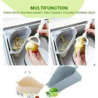 Triangle Sink Storage Holder Multifunctional Drain Shelf Rack Kitchen Sucker yu