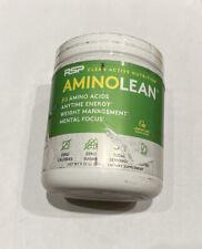 NEW RSP AMINO LEAN - Lemon Lime - Energy Formula - 30 Servings - Exp 08/2023
