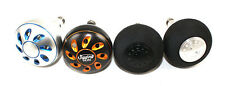 JIGGING WORLD 45MM POWER KNOBS FOR VAN STAAL & ZEEBAAS REELS!: BLACK/GOLD
