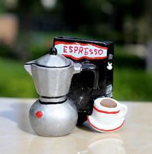 SOUVENIR 3D RESIN FRIDGE MAGNET ---- Italian Espresso Coffee machine , Italy