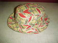 Vintage Coors Beer Old School Drinker's Brimmed Rare Hat Cap Casual Size Medium