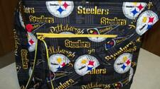 Pittsburgh Steelers Football Handbag tote purse Coin Change purse, Keychain