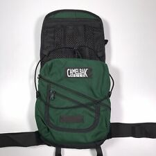 Camelbak Mule Green Black Hydration Backpack Only Small Hole On The Side