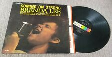 "Brenda Lee....""Coming On Strong"" 12"" Vinyl Record LP"
