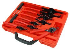 CT1107 10pc Snap Ring Circlip Pliers Set With Hook And Pick With Storage Case
