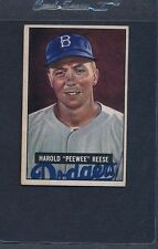 1951 Bowman #080 Pee Wee Reese Dodgers VG/EX *187