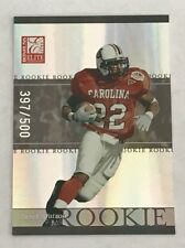 2003 Donruss Elite Football - Rookie #d 397/500 - DEREK WATSON - Patriots RC
