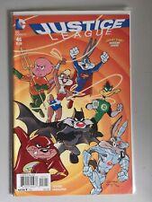 JUSTICE LEAGUE #46 - LOONEY TUNES VARIANT - 1st PRINT - DC COMICS