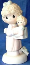 """Precious Moments Love is the Best Gift of All """"Special"""" 1987 Cedar Tree #110930"""