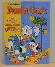 1x Mini strip / comic Donald Duck / Chocomel 1984
