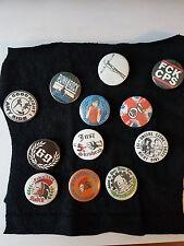 Button Subculture69Radio Orange