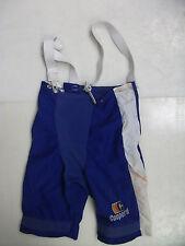 Cooperall hockey pant shell blue senior size Small sr used Vtg rare Cooper